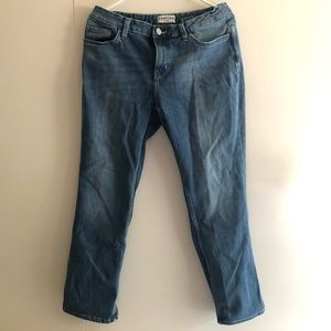 """🔴Crafted by Lee Mid Rise Straight Jeans Waist 33"""""""